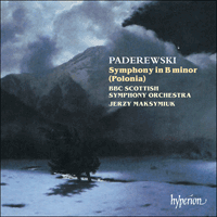 Cover of CDA67056 - Paderewski: Symphony in B minor 'Polonia'