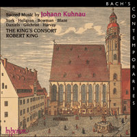 Cover of CDA67059 - Kuhnau: Sacred Music