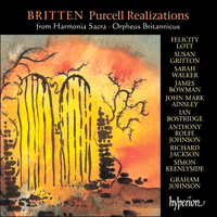 Cover of CDA67061/2 - Britten: Complete Purcell Realizations
