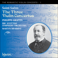 Cover of CDA67074 - Saint-Sa�ns: Violin Concertos