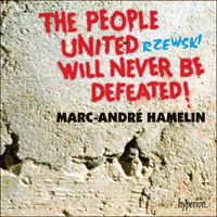 Cover of CDA67077 - Rzewski: The People United Will Never Be Defeated!
