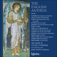 Cover of CDA67087 - The English Anthem, Vol. 7
