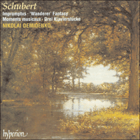 Cover of CDA67091/2 - Schubert: Impromptus & other piano music
