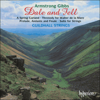Cover of CDA67093 - Gibbs: Dale and Fell & other chamber music