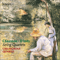 Cover of CDA67097 - Chausson & Indy: String Quartets
