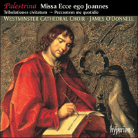 Cover of CDA67099 - Palestrina: Missa Ecce ego Johannes & other sacred music