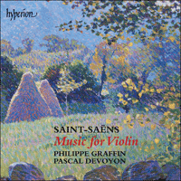 Cover of CDA67100 - Saint-Sa�ns: Music for violin and piano