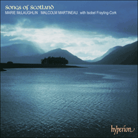 Cover of CDA67106 - Songs of Scotland