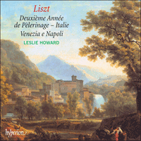 Cover of CDA67107 - Liszt: The complete music for solo piano, Vol. 43 � Deuxi�me Ann�e de P�lerinage