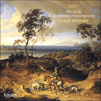 Cover of CDA67111/3 - Liszt: The complete music for solo piano, Vol. 44 � The Early Beethoven Transcriptions