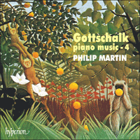 Cover of CDA67118 - Gottschalk: Piano Music, Vol. 4