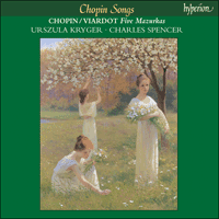 Cover of CDA67125 - Chopin: Songs