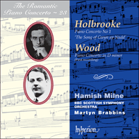 Cover of CDA67127 - Holbrooke & Wood: Piano Concertos