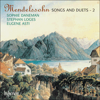CDA67137 - Mendelssohn: Songs and Duets, Vol. 2