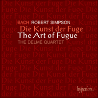 CDA67138 - Bach & Simpson: The Art of Fugue