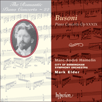 Cover of CDA67143 - Busoni: Piano Concerto