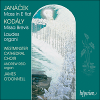 Cover of CDA67147 - Kod�ly & Jan�cek: Masses