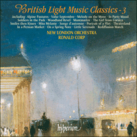 Cover of CDA67148 - British Light Music Classics, Vol. 3