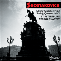 Cover of CDA67153 - Shostakovich: String Quartets Nos 2 & 3