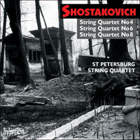 Cover of CDA67154 - Shostakovich: String Quartets Nos 4, 6 & 8