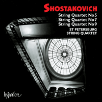 Cover of CDA67155 - Shostakovich: String Quartets Nos 5, 7 & 9