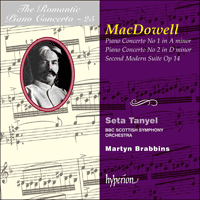 Cover of CDA67165 - MacDowell: Piano Concertos