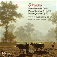 Cover of CDA67175 - Schumann: Fantasiest�cke, Piano Trio & Piano Quartet