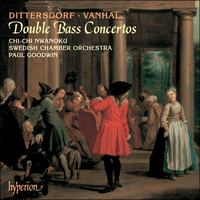 Cover of CDA67179 - Dittersdorf & Vanhal: Double Bass Concertos