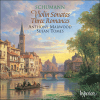 Cover of CDA67180 - Schumann: Violin Sonatas & Three Romances