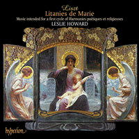 Cover of CDA67187 - Liszt: The complete music for solo piano, Vol. 47 � Litanies de Marie