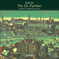Cover of CDA67191/2 - Bach: The Six Partitas