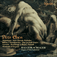 Cover of CDA67196 - Eben: Organ Music, Vol. 3