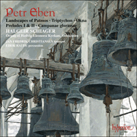 Cover of CDA67198 - Eben: Organ Music, Vol. 5