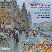 Cover of CDA67204 - L'Album des Six