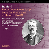 Cover of CDA67208 - Stanford: Violin Concertos