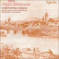Cover of CDA67211/2 - Bach: Organ Miniatures