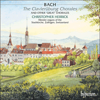 Cover of CDA67213/4 - Bach: The Clavier�bung Chorales & other great chorales