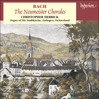 CDA67215 - Bach: Neumeister Chorales