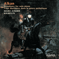Cover of CDA67218 - Alkan: Symphony for solo piano