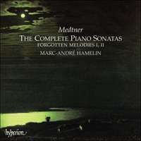 Cover of CDA67221/4 - Medtner: The Complete Piano Sonatas