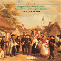 Cover of CDA67235 - Liszt: The complete music for solo piano, Vol. 52 � Ungarischer Romanzero