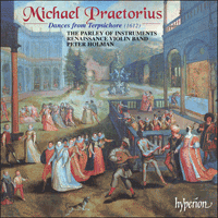 Cover of CDA67240 - Praetorius: Dances from Terpsichore