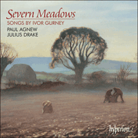 Cover of CDA67243 - Gurney: Severn Meadows