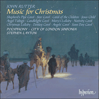 Cover of CDA67245 - Rutter: Music for Christmas
