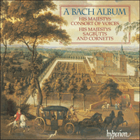 Cover of CDA67247 - A Bach Album