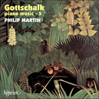Cover of CDA67248 - Gottschalk: Piano Music, Vol. 5