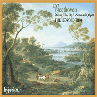 Cover of CDA67253 - Beethoven: String Trio & Serenade