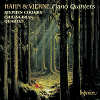 Cover of CDA67258 - Hahn & Vierne: Piano Quintets