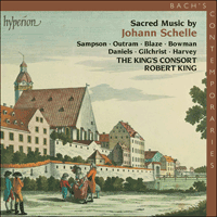 Cover of CDA67260 - Schelle: Sacred Music