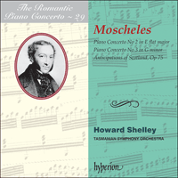 Cover of CDA67276 - Moscheles: Piano Concertos Nos 2 & 3